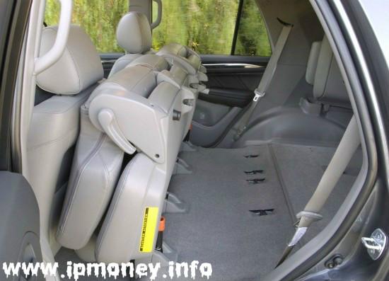 Багажное отделение Toyota 4Runner 2014