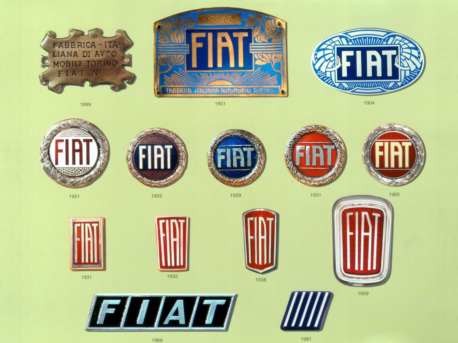 Логотип компании Fiat