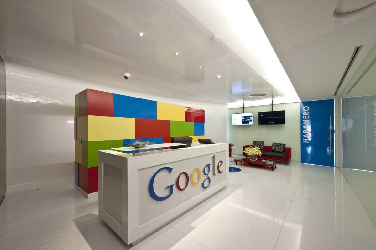 Фото офисов Google и Яндекс