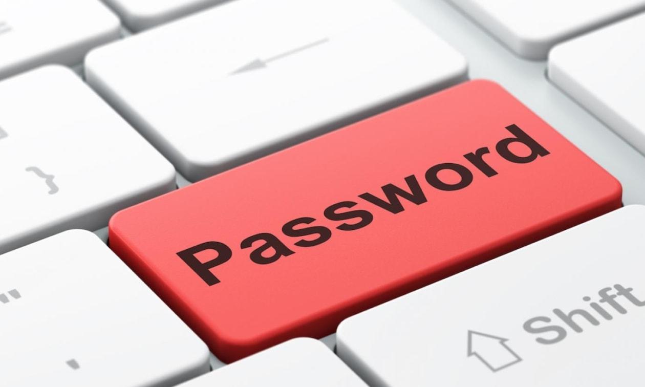 Самые популярные почтовые пароли