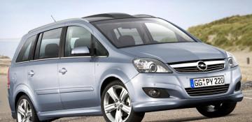Opel Zafira B Компактвэн 2005—н.в.