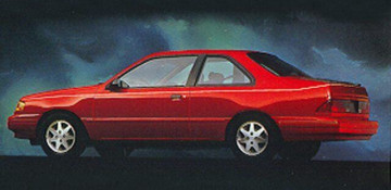 Ford Tempo Купе 1987—1995
