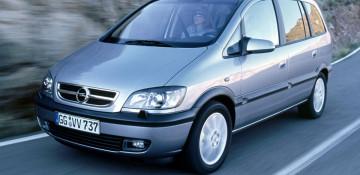 Opel Zafira A Компактвэн 1999—2006