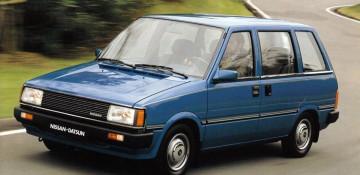 Nissan Prairie I (M10) Компактвэн 1983—1988