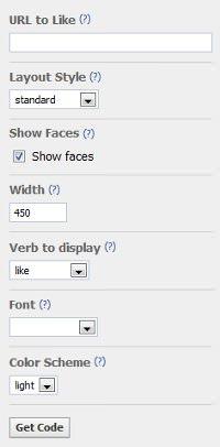 Как добавить кнопку Facebook на сайт